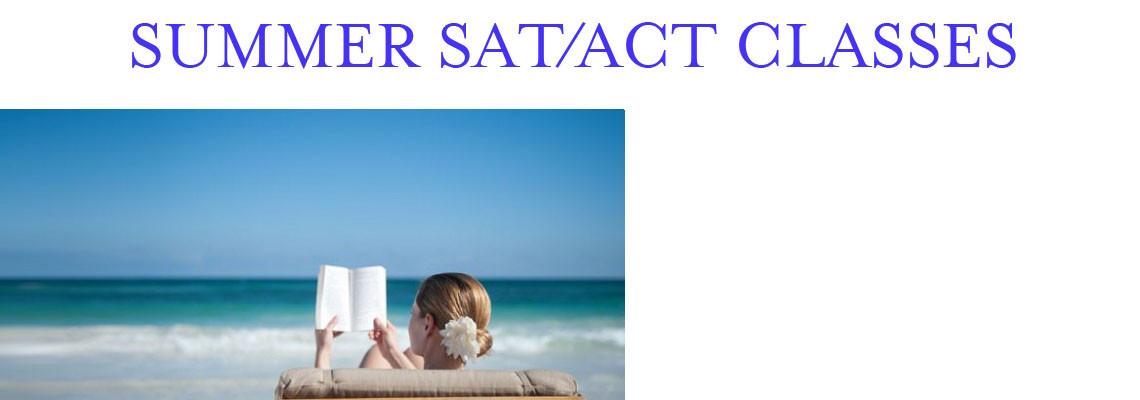 Summer SAT/ACT Classes